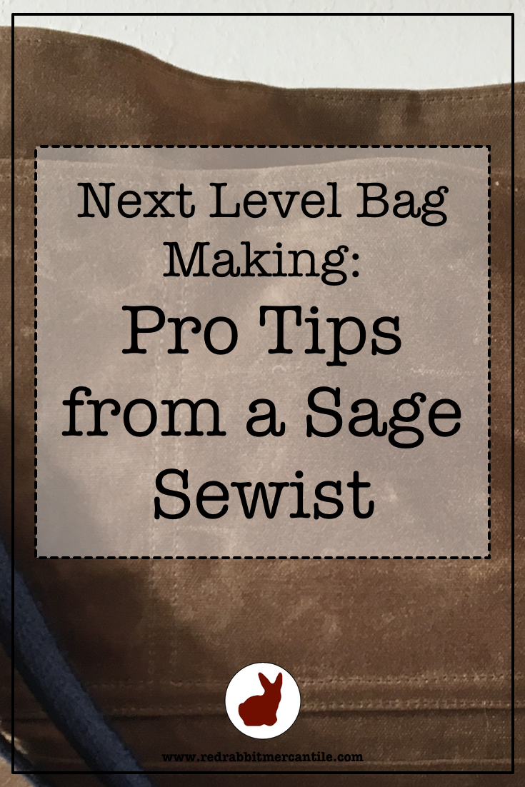 Advanced techniques to elevate your bag making!