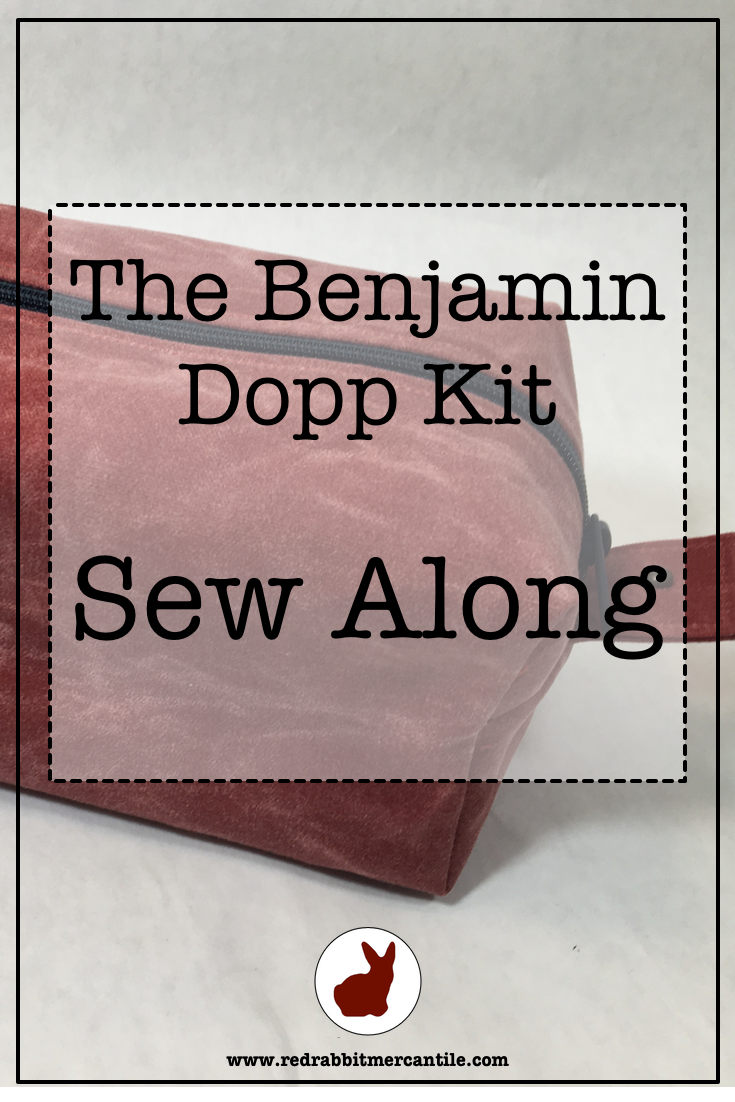 Learn to Make a Waxed Canvas Dopp Kit