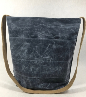 Slate Blue with Khaki Strap