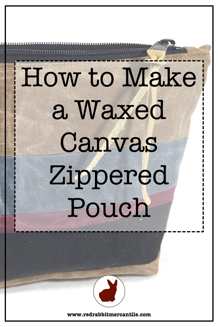 A Useful Zippered Pouch from Scraps!