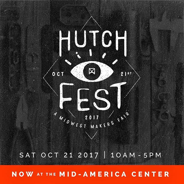 Looking for something to do on a rainy and chilly Saturday? Come see us and a TON of other awesome makers at Hutchfest @hutchfestomaha indoors at the Mid America Center 10am - 5pm. Hope to see you there!