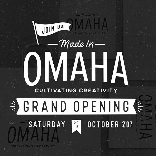 Hey Instagram, its been a while.😎😎😎 Omaha! Go check out the new Made in Omaha store in Countryside Village opening this Saturday. Made in Omaha is a new retail experience celebrating all things local!