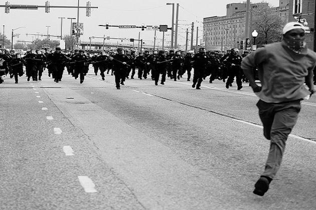 Baltimore, 2015;photo: Devin Allen