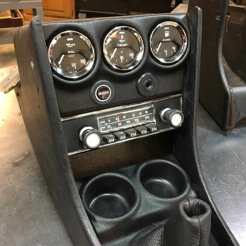 After many requests, we will soon be making a RHD version of our popular dash/console gauge/radio panel! ...and to follow up, they are now available for purchase! -
