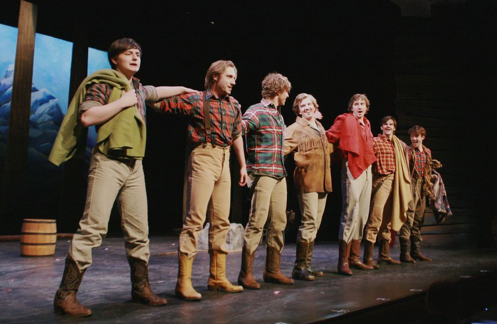 SEVEN BRIDES FOR SEVEN BROTHERS, Rider University