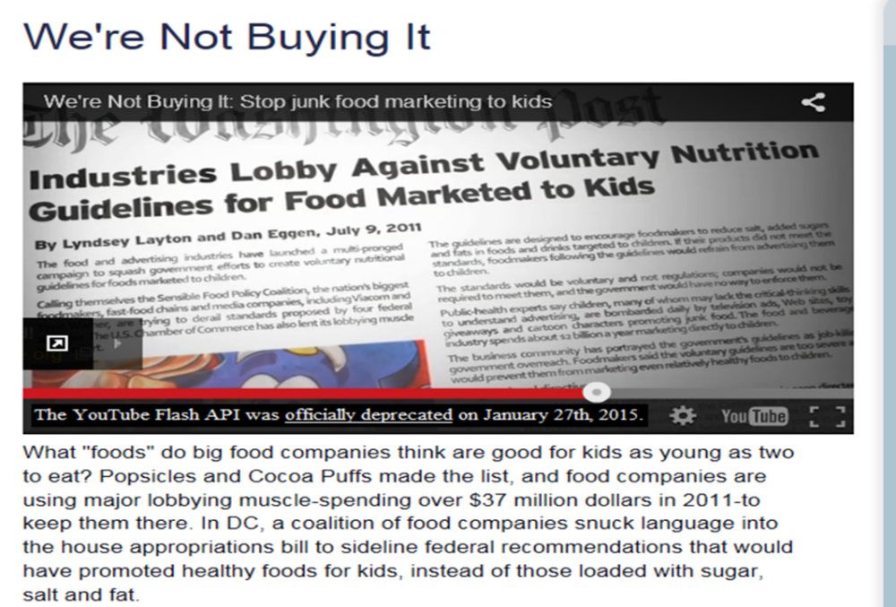 From We're Not Buying It by the Prevention Institute  Credit