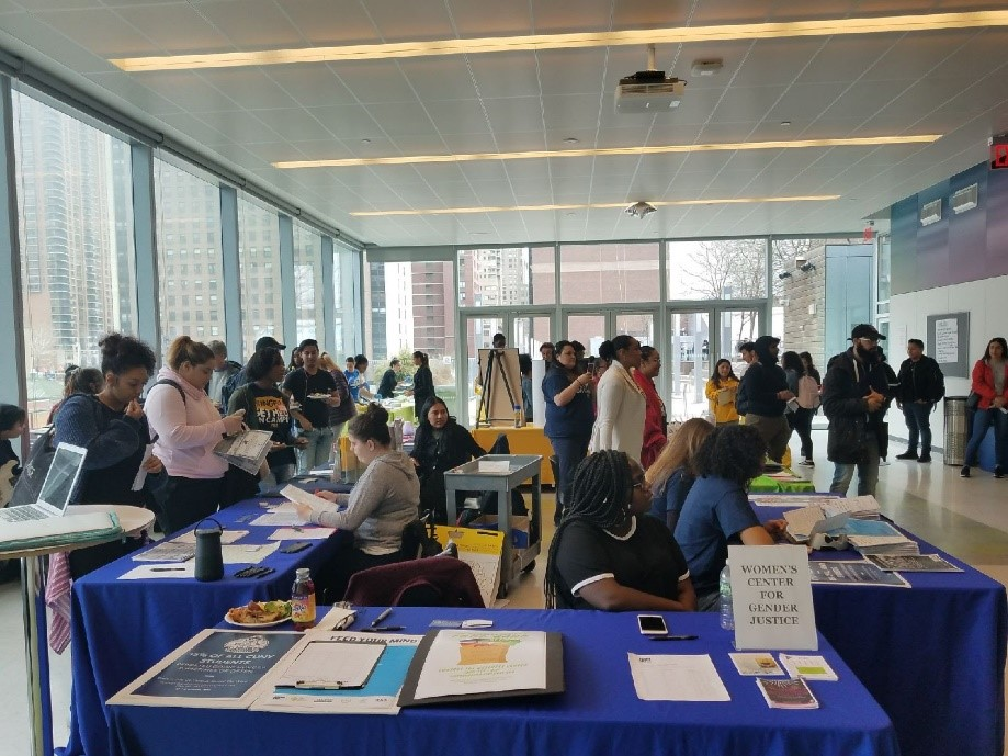 More than 100 guests attended the Food Justice Expo on April 30th.