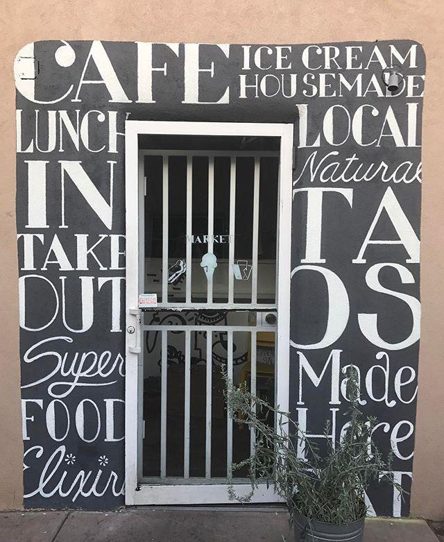 Fine design a la Taos#newmexico #Taos#café