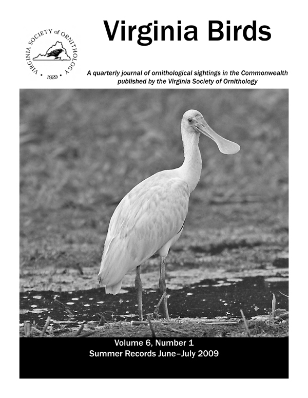 Virginia Birds Journal Vso