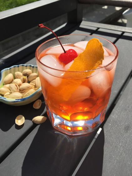 Cherry Aperol Spritz