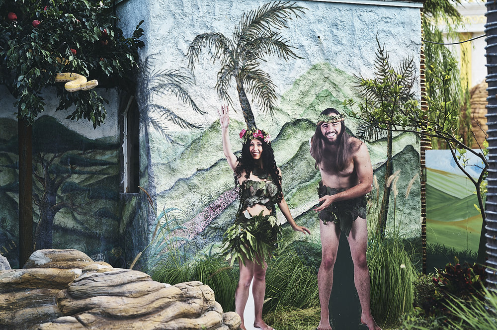 Adam and Eve of the Holy Land Experience