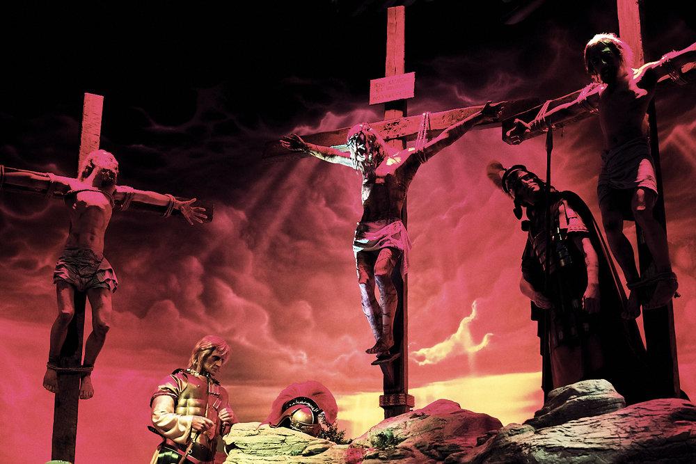 Crucifixion Display at Holy Land Experience, Orlando, Florida