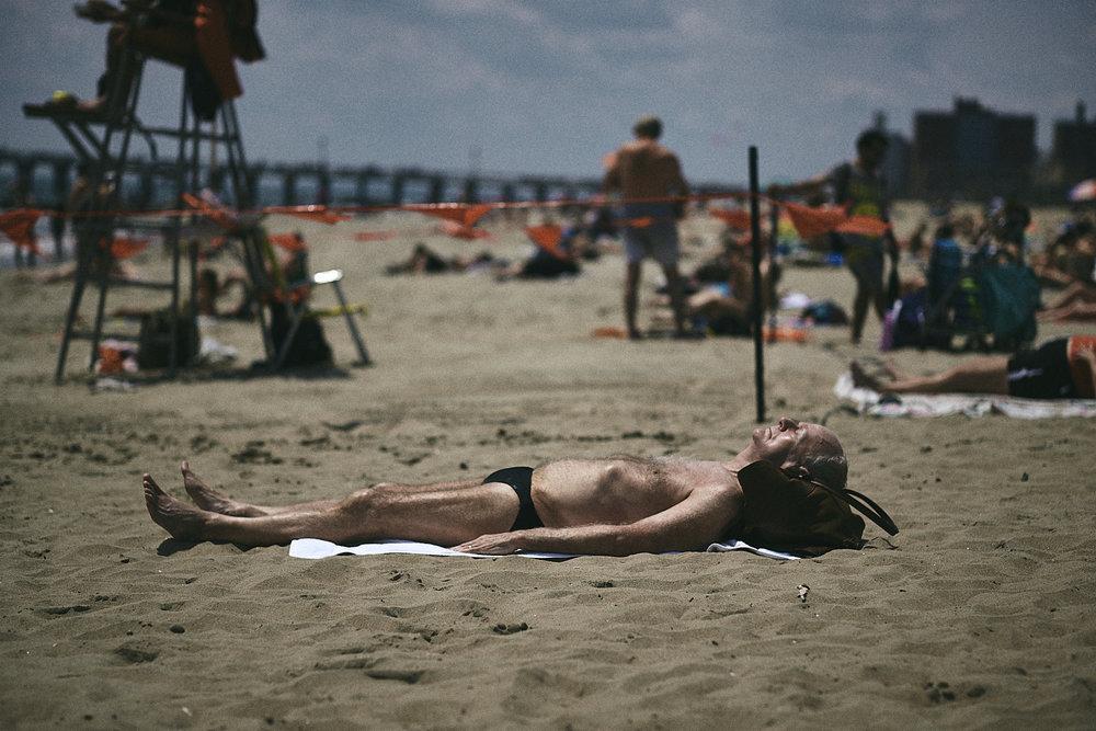 Coney Island Beach, New York
