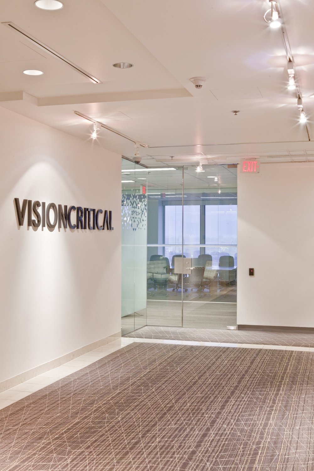 Vision Critical Size:40,000 Sq. Ft. Completed:2010 Services Rendered:Interior Design, Construction Management