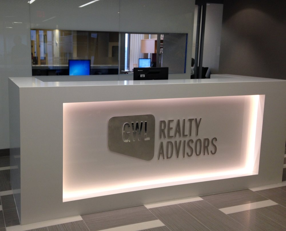 GWL Realty Advisors Size: 7,425 Sq. Ft. Completed: 2014 Services Rendered: Interior Design, Construction Management