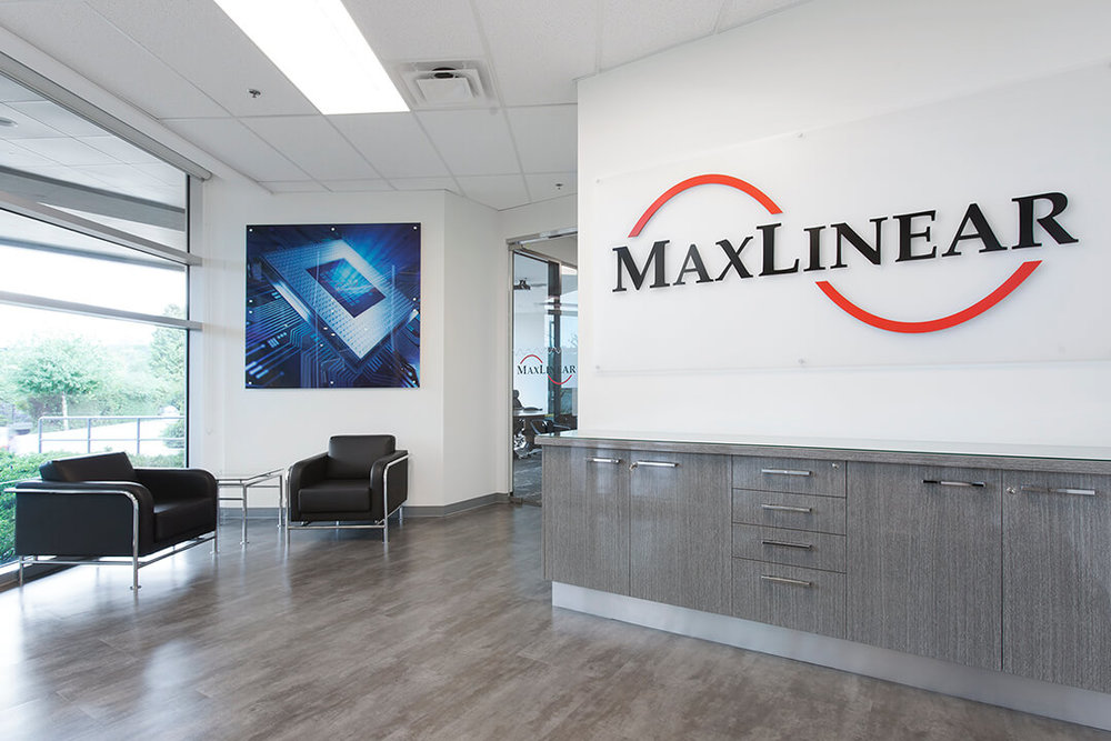 MaxLinear    Size:  11,800 Sq. Ft.  Completed:  2017  Services Rendered:  Interior Design, Construction Management