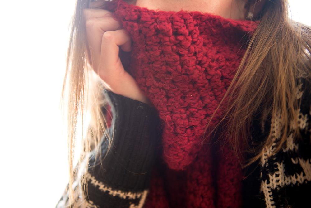 February scarf game.