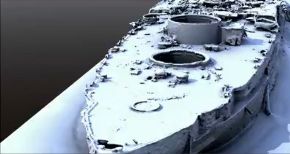 The USS Arizona modeled by ReMake.