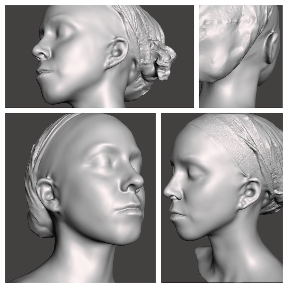 Fig: Digital 3D Portraits