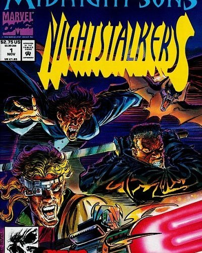 In the most 90's entry for Hey Kids, Comics! 9 days of horror, we bring you Nightstalkers.  No one ever said horror comics couldn't be insane fun, and this proves it (sort of). Starring Hannibal King, Ghost Rider, and everyone's favorite Daywalker; this trifecta of terror unravels mystery and fights evil with every pouch and giant gun they can get their hands on.  It's crazy good time demon hunting at its most rad.  #hkc #jedicoleuniverse #horrorcomics #horrorcomic #horror #comics #comicbook #comic #podcasters #podcast #podcaster #podernfamily #hannibalking #ghostrider #blade #midnightsons #nightstalkers