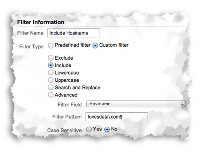 Top Filters in Google Analytics