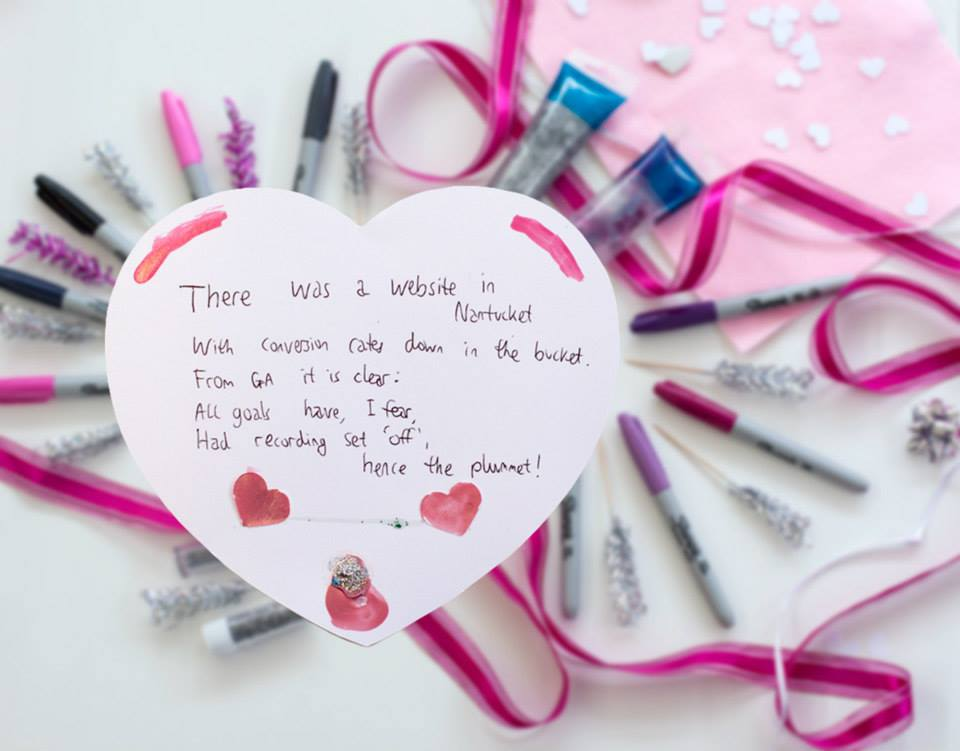 Loves Data valentines poems crafternoon