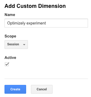 Add custom dimension