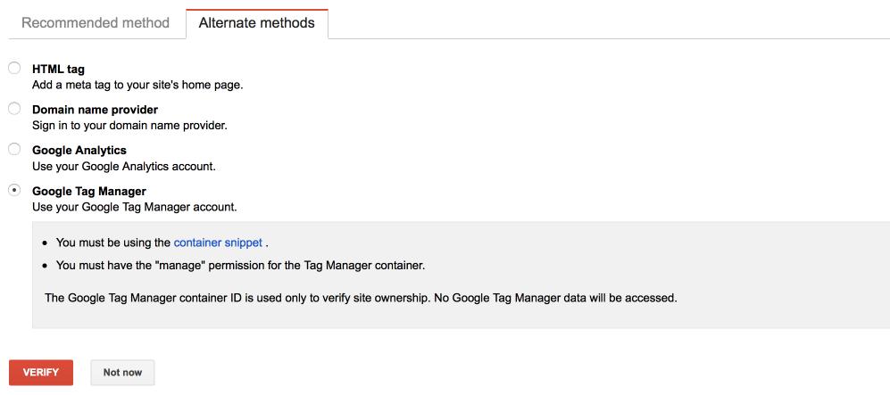 Google Ytics Method
