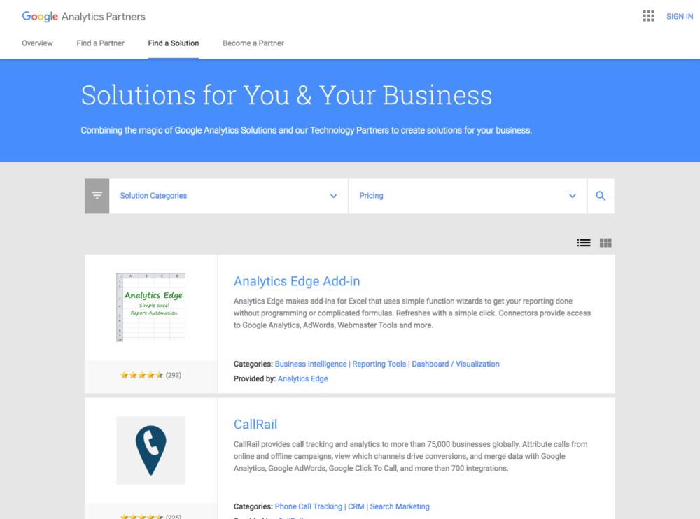 Google Analytics Automation