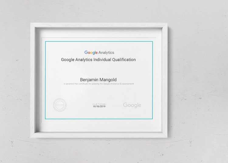 Google Analytics Certification – Passing Google\'s Exam – Loves Data