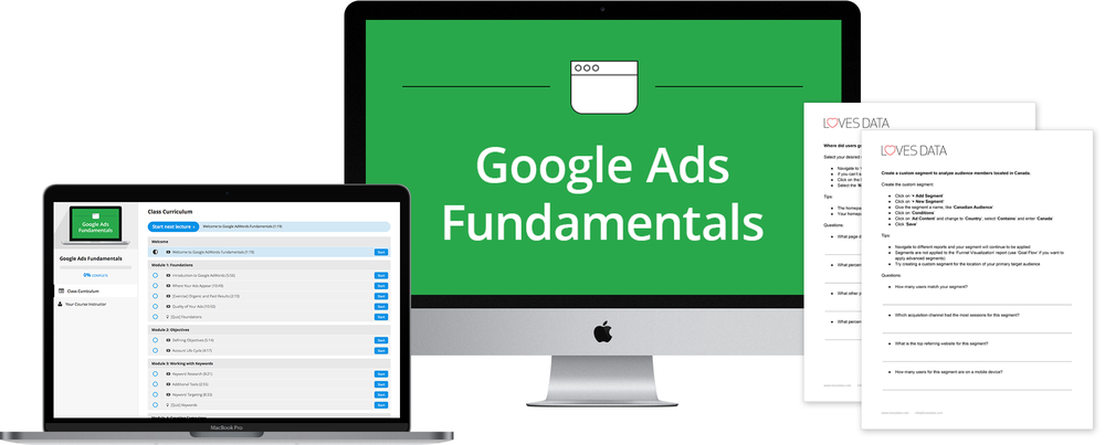 Google Ads Training Course