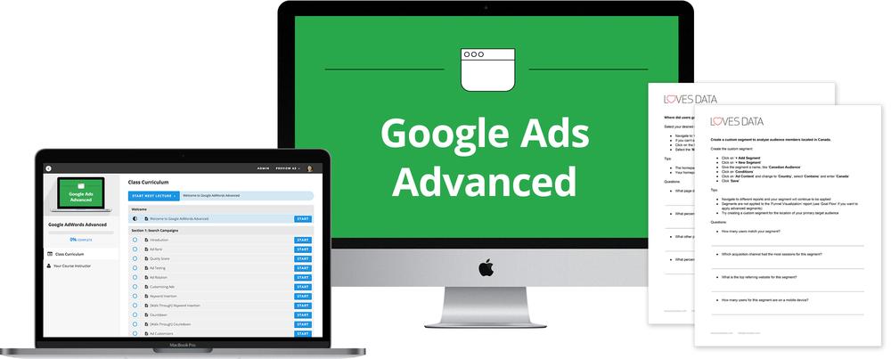 Google Ads Advanced Course