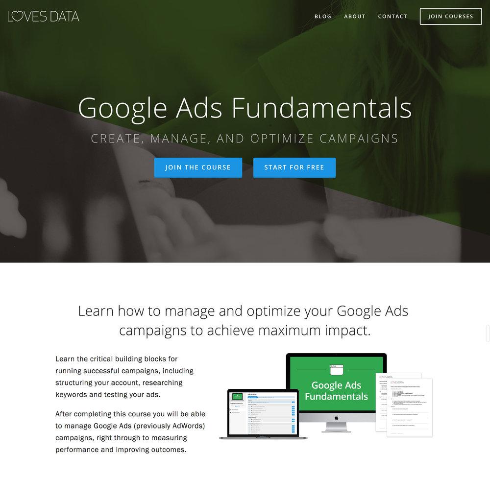 Learn Google Ads