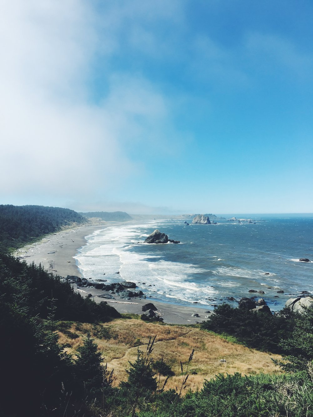 Blacklock Point, Oregon Coast Trail