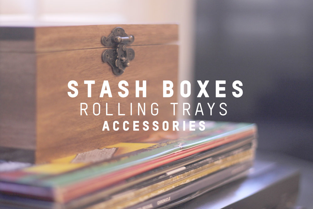 Stash Boxes-Rolling Trays-Accessories