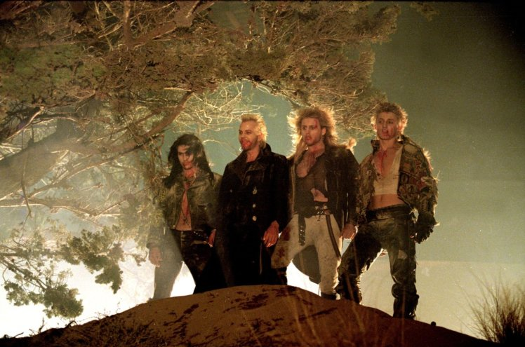 DESCRIPTION:After moving to a new town, two brothers discover that the area is a haven for vampires. The Lost Boys is an EPIC Movie and an absolute MUST watch. I wouldn't say it's too scary, but being stoned should help you put your heart and soul into watching it and I promise you'll be hooked.