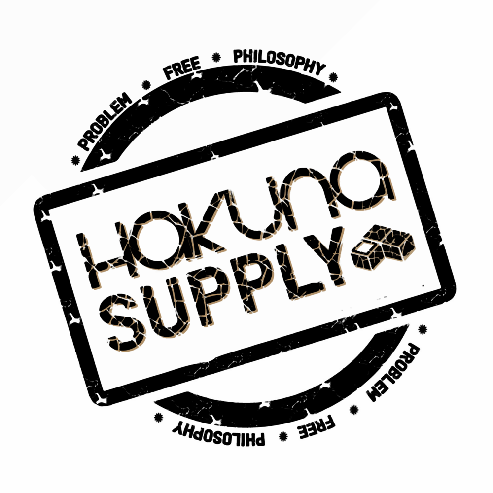 HAKUNA SUPPLY'S PROBLEM-FREE PHILOSOPHY - We focus on four core pillars—Responsibility, Sustainability, Equality, Integrity. These pillars hold us true to our vision of creating sustainable supply chains and products.As important as the circle of life; is the respect of life. Our 'No More Worries' tag line is our guarantee that any issue that arises will be treated equally and honestly by our exceptional customer service.Join us in living a Problem Free Lifestyle!Hakuna Supply – 'No More Worries""