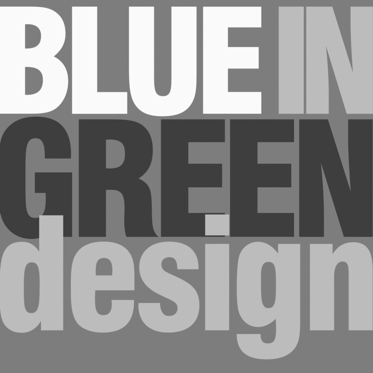 brahna stone + blue in green design group