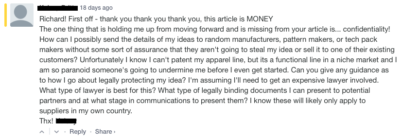 Confidentiality Blog Comment.png