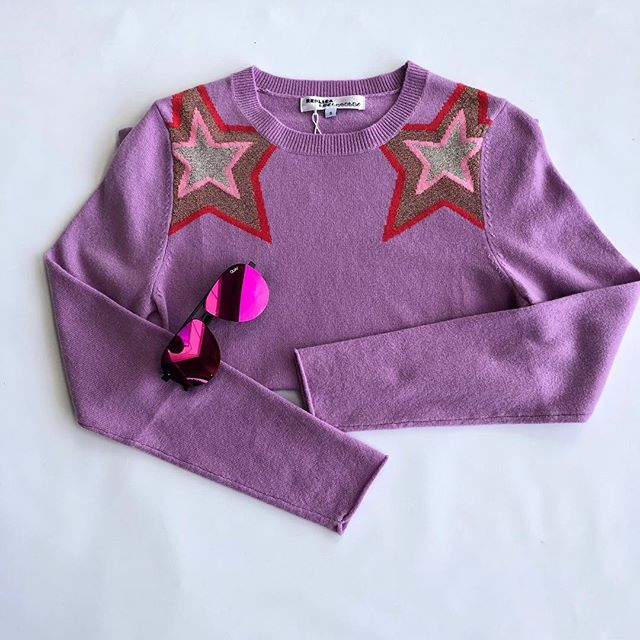 Starry Eyed over this @replica_losangeles light weight cashmere sweater 🤩  #stars#cashmere#lightweight#fashion#buynowwearnow#chapelhill#durham#wearingwhilden