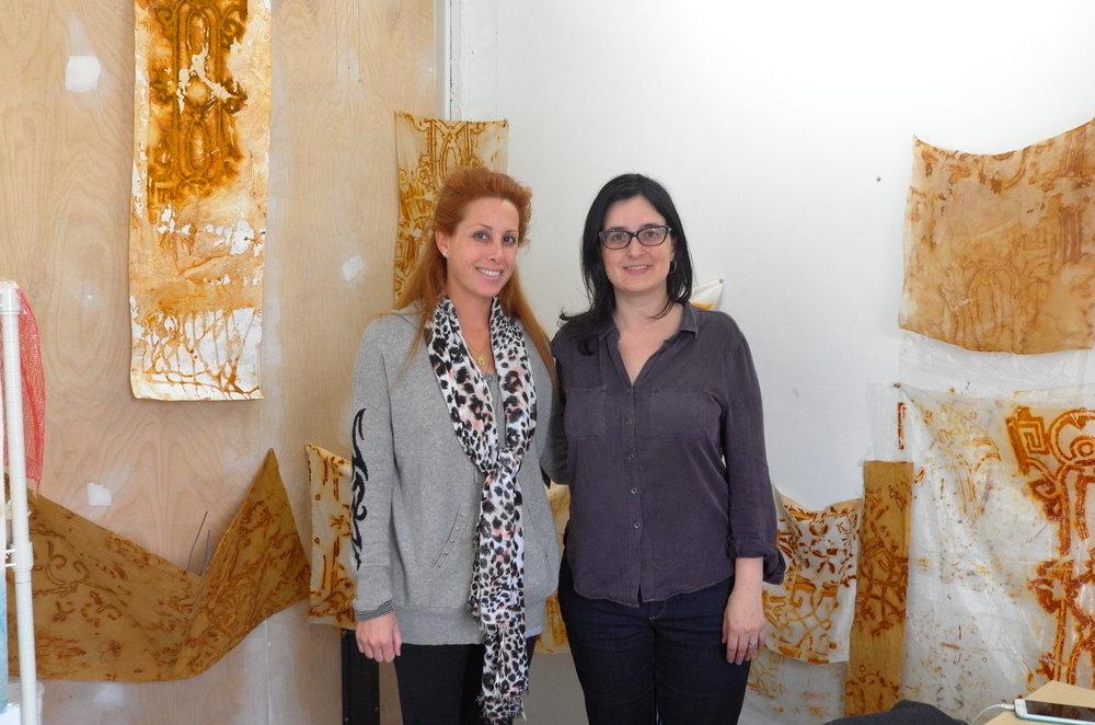 Studio Visit with heather zises, April 2017
