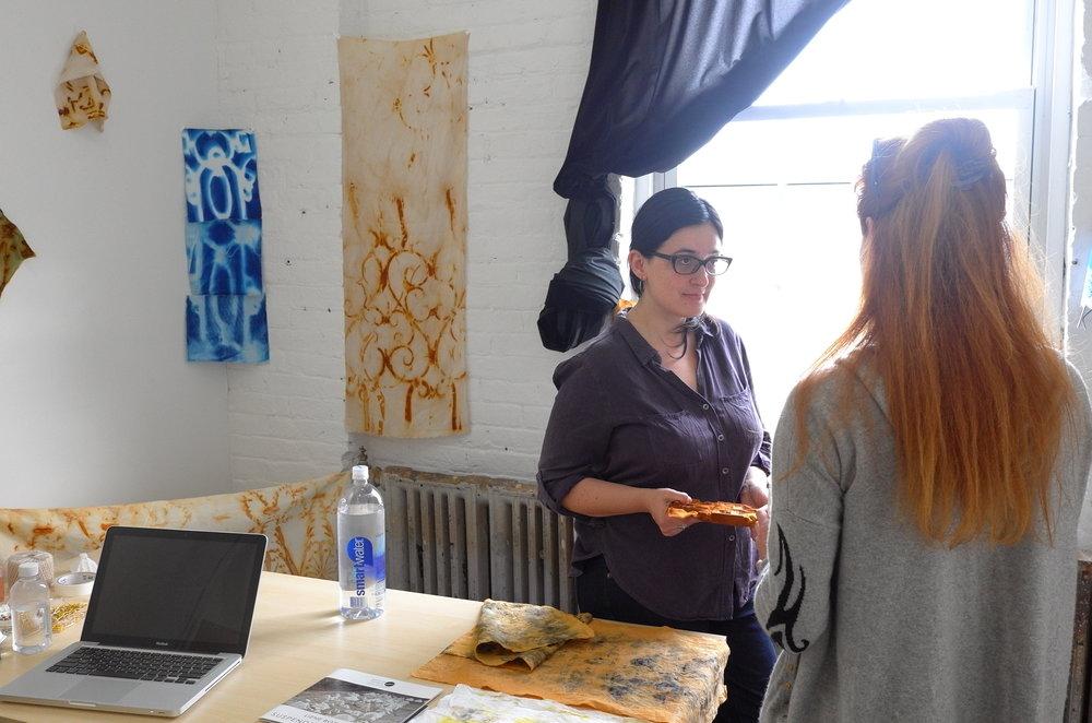 Studio Visit, April 2017