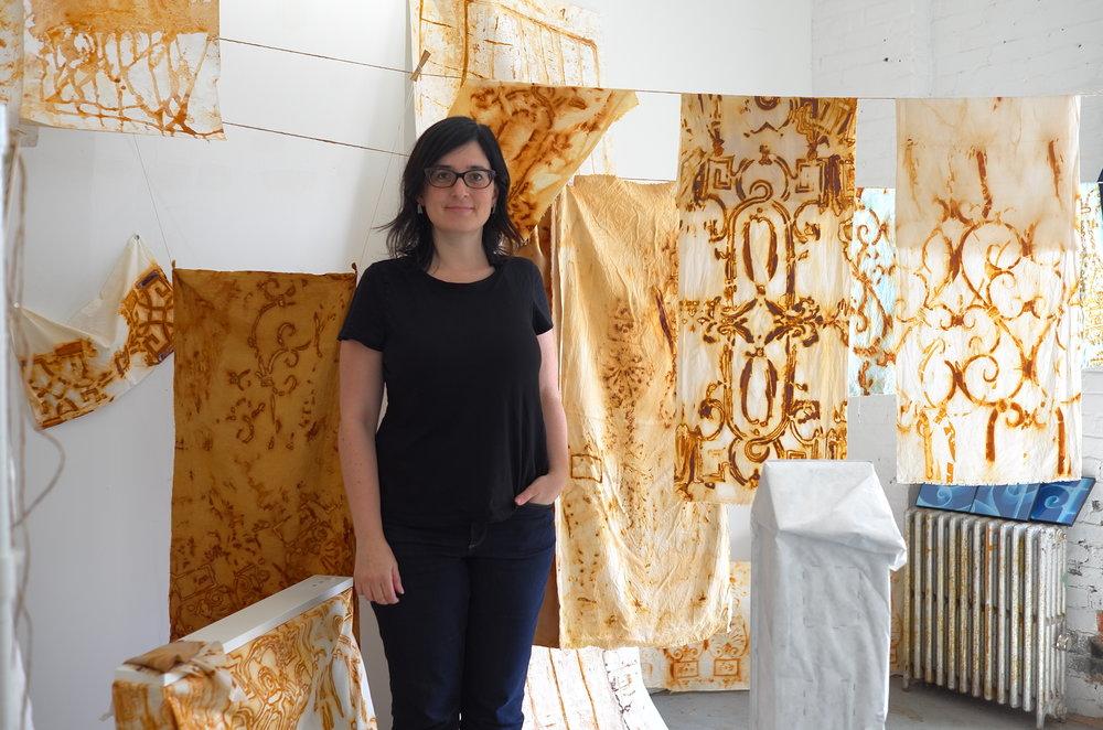 2017 Residency Program Artist, Liene Bosque
