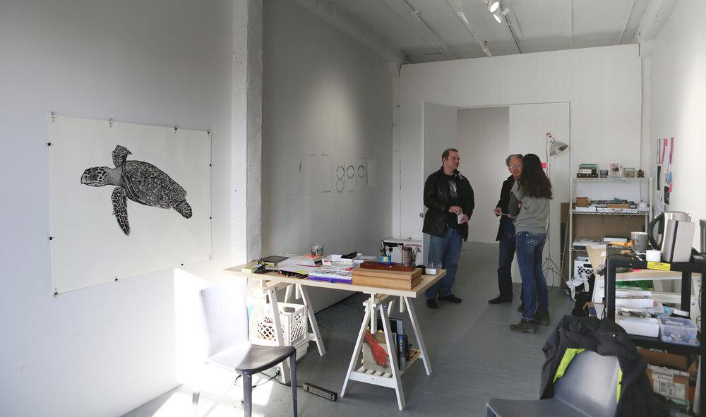 Studio Visit, December 2016