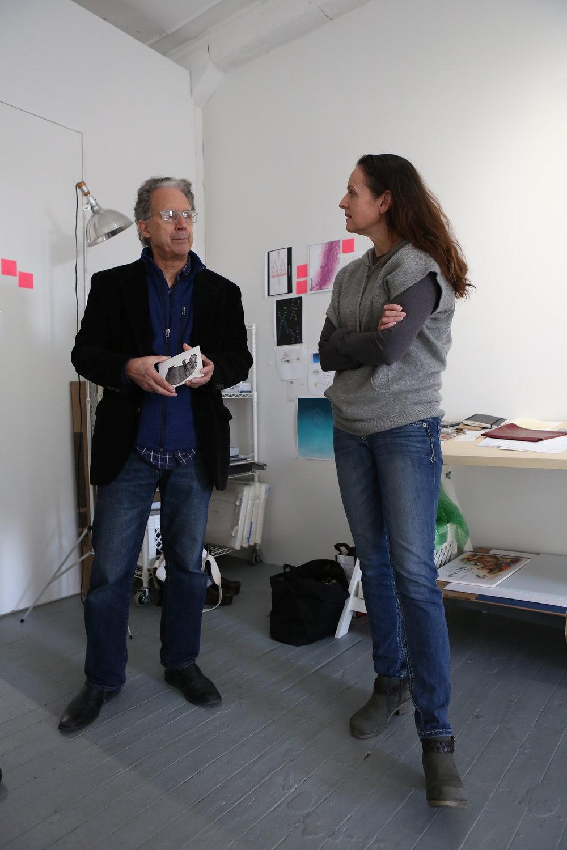 Studio Visit with Joel Carreiro