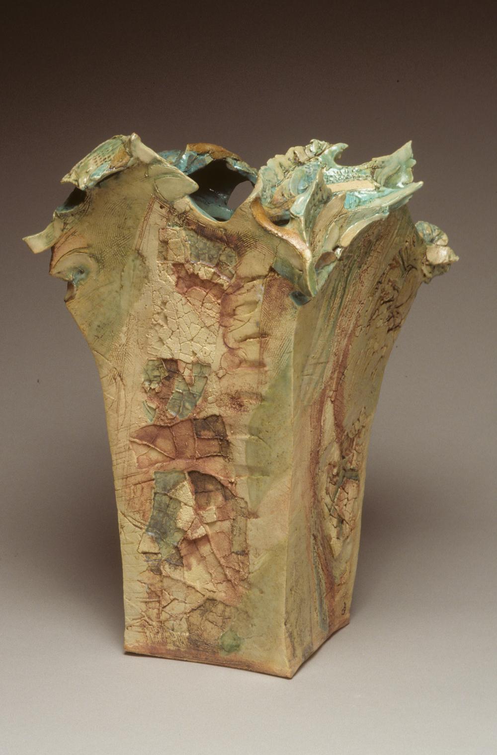Vase   H. 21 in.