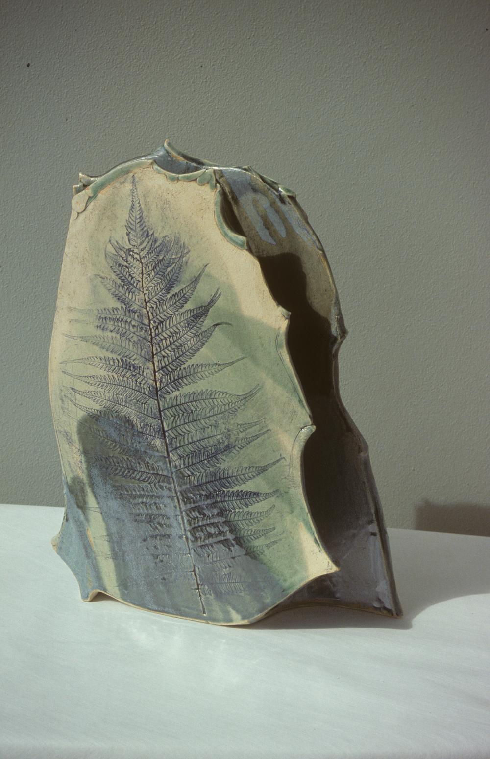 Vase   H. 15 in.