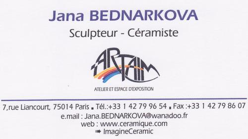 Atelier Artaim Google Carte Visite Jana Bednarkova Kenney