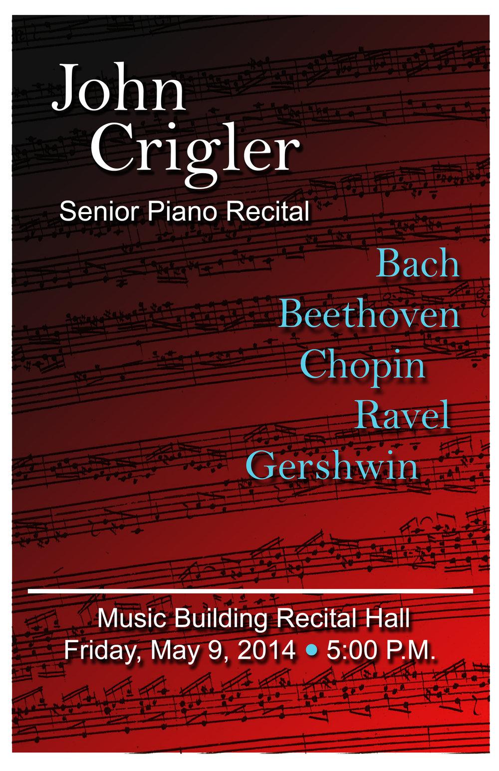 John Crigler Poster 2