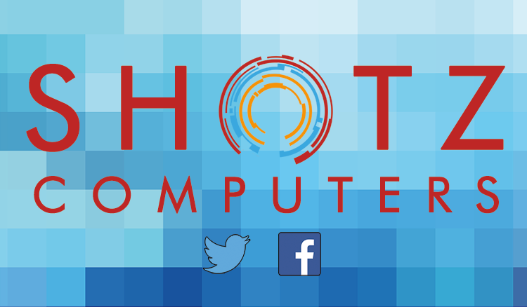 Shotz Computers Business Card